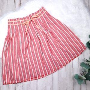 Sz 0 Striped 'Old Navy' Circle skirt